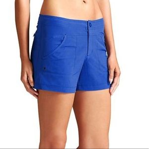 Athleta Blue Costa Shorts Size 12